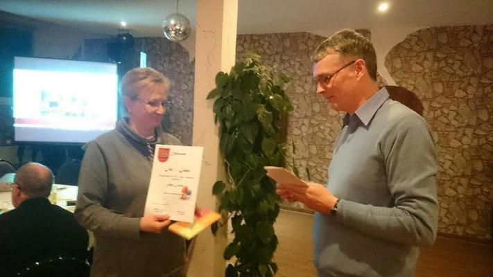 25 Jahre Mitglied - Anja Jaster