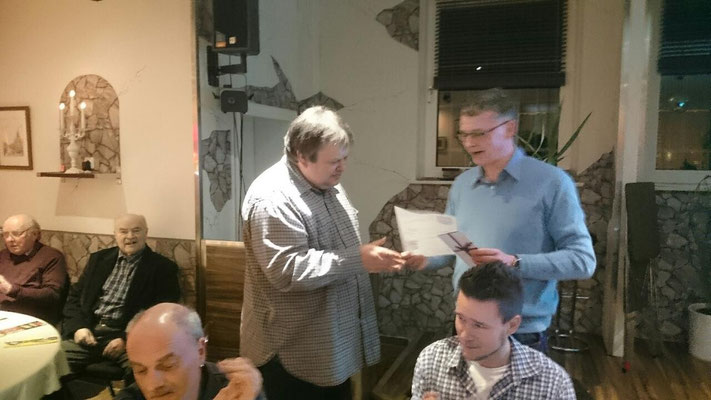 40 Jahre Mitglied - Matthias Kalinka