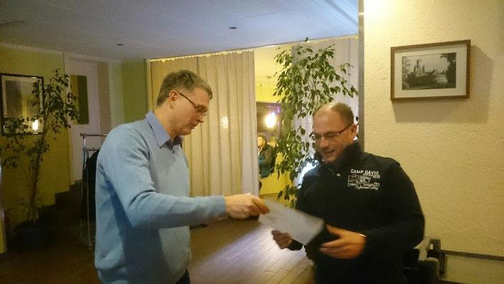 30 Jahre Mitglied - Martin Möller