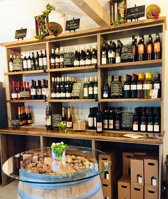 Deutsche, italienische und spanische Weine