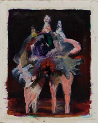 Venus Oil Painting 117.5 x 91 cm(142 x 114.5 cm キャンバスサイズ) 撮影/齋藤 裕也