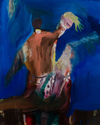 2018-2020 Oil on Canvas F40(100×80.3) 撮影/齋藤 裕也 作家蔵