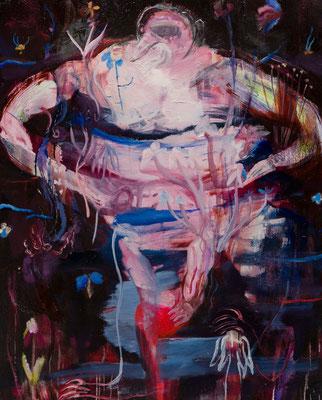 Ofi... oil painting/2018 100.0×80.3(F40) 撮影/齋藤 裕也