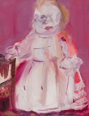 Felipe1   oil painting/2013/41.0×31.8(F6) 撮影/齋藤 裕也 個人蔵