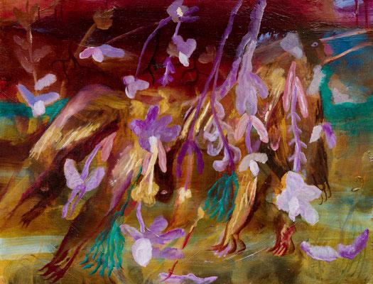 原野 oil painting/2019/60.6×45.5(p12) 撮影/齋藤 裕也