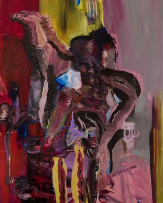 2020.12 Oil on Canvas F100(162×130.3) 撮影/齋藤 裕也 個人蔵