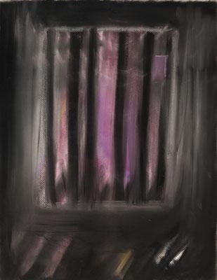 小さい家のためのスケッチ7/Sketch for a Little House7 pastel on paper/2018 53.0×41.0(P10) 撮影/齋藤 裕也