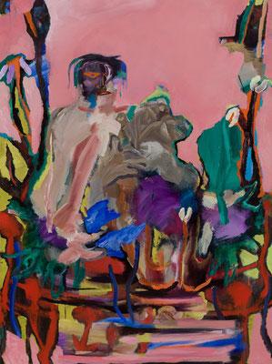 神話/Myth Oil Painting 130.3 x 97 cm 撮影/齋藤 裕也