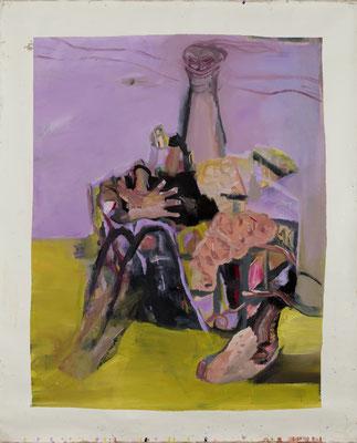蛇の夢 Oil on Canvas 117 x 92(142 x 114) 撮影/齋藤 裕也 個人蔵