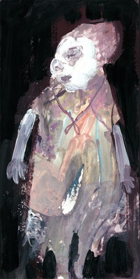 死体 acryl on board/2013/34.0×17.0