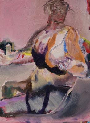 Parissa Oil on Canvas 45.5 x 33.3 cm 撮影/齋藤 裕也 個人蔵