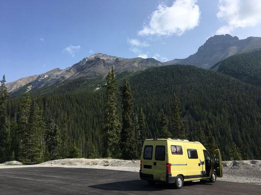 Banff: Fahren, anhalten, staunen, Fotos machen, fahren, anhalten, stauen Fotos machen …