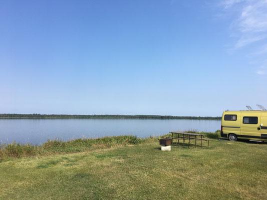 … um da hin zu gelangen. Lake Audy CG – einer der schönsten Orte auf unserer Reise.