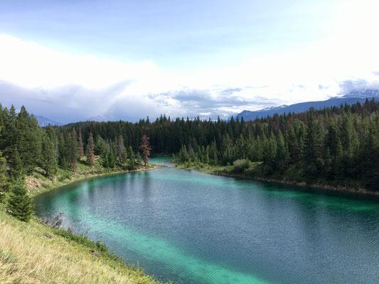 Einer der Seen im Valley of the Five Lakes.