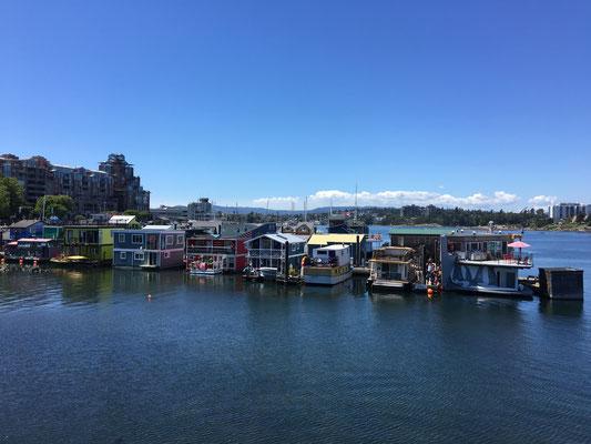 Victoria: Fishermen's Wharf (also quite commercial)