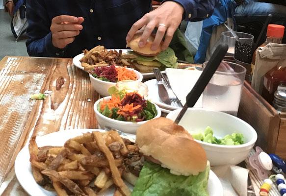 Vegane Burger in Vancouver