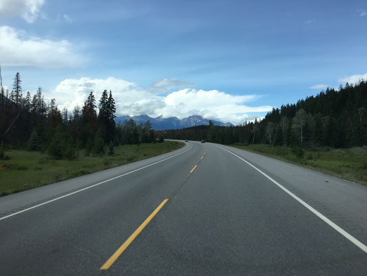"""Die """"most scenic route on earth"""" lässt sich jedenfalls schon mal schick an."""