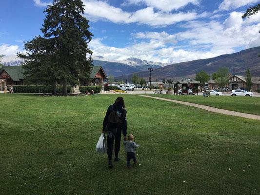 Die Stadt Jasper.