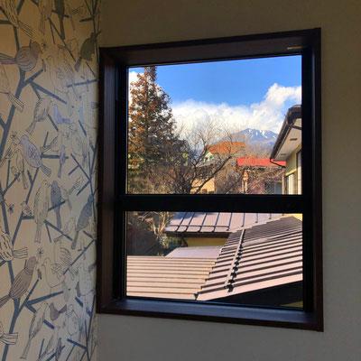 view (2nd floor room)