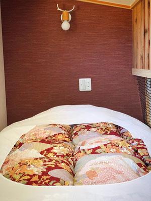 Japanese-style futon set