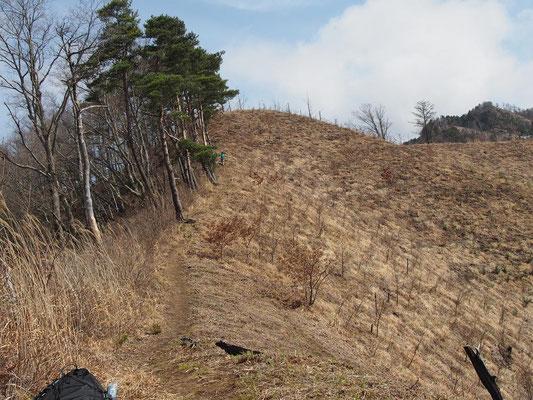 妻が空身で高い所から富士山を見ようと・・