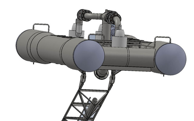 parallaxe - système de pompage