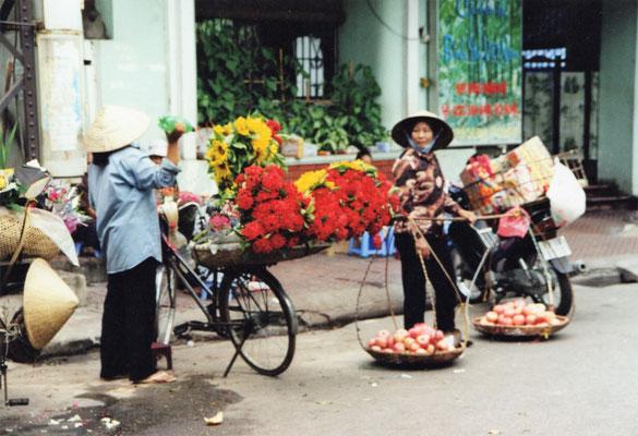 Markthändlerinnen.