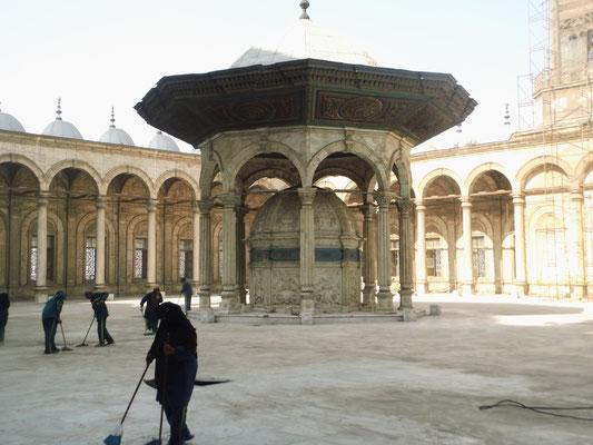 Innhof der Mohammed-Ali-Moschee.