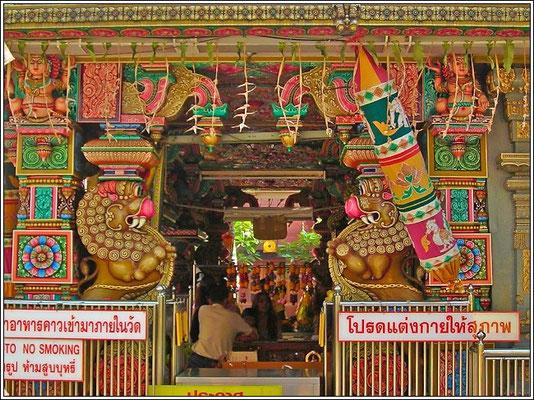 Sri MahaSri Maha Mariamman Temple - Silom Road/Soi13 - Bangkok Mariamman Temple - Silom Road Bangkok