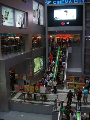Inside MBK Shopping Mall