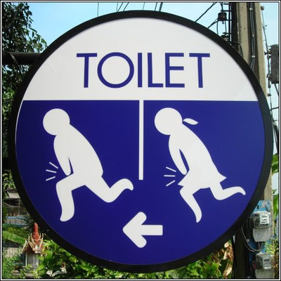 Toilet Sign Nonthaburi