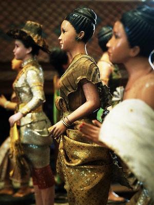 Small Thai Puppets - Papaya Vintage - Lat Phrao - Bangkok
