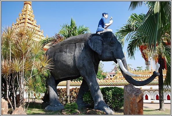 Khon Kaen - Wat Nong Wang -