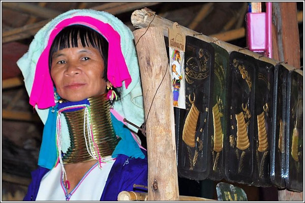 Karen Woman - Hill Tribe Village