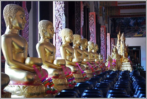 Khon Kaen - Wat Nong Wang - Inside the Chedi -