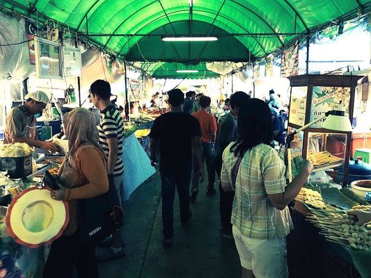 At Chatuchak Weekend Market - Bangkok - Thailand