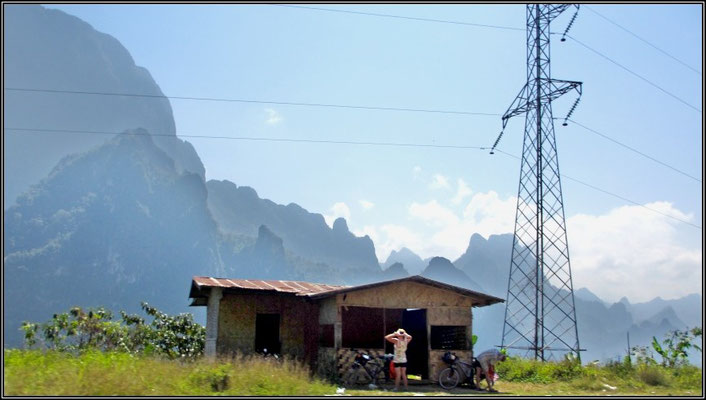 On The Road From Luang Prabang To Vang Vieng