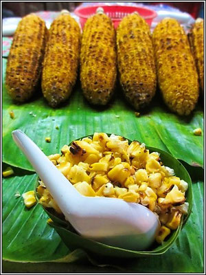 Corn To Go - Bangnoi Floating Market - Amphawa
