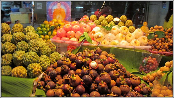 Fruits - Bangnoi Floating Market - Amphawa