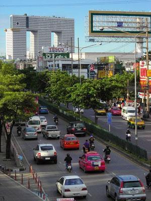Lat Phrao Elephant Building - MRT Phahon Yothin Station -