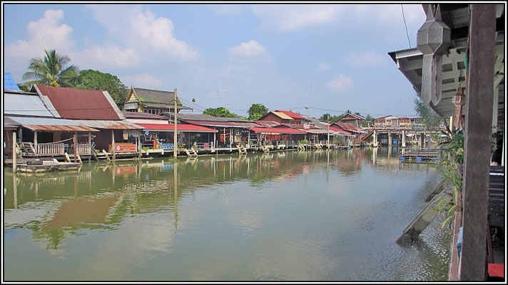 Quiet Canal On Monday - Amphawa