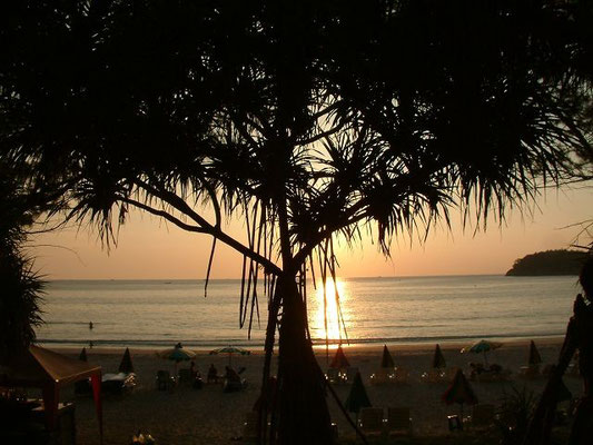 Phuket - Sunset Kata Beach -
