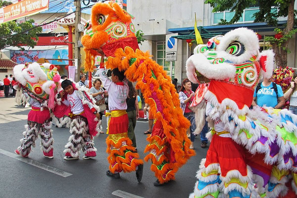 Dragon Parade - Yaowarat Rd. - Chinese New Year 2016 - China Town - Bangkok