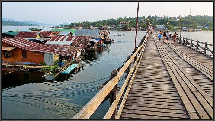 Mon Bridge - Sangkhla-Buri
