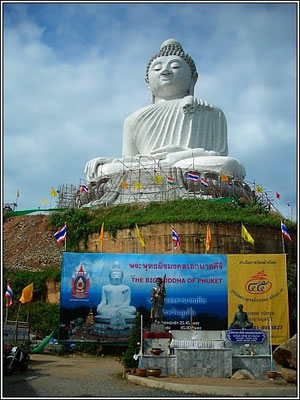 Big Buddha - On The Hill Between Kata And Chalong