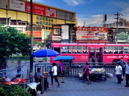 At the MRT Station Phahon Yotin