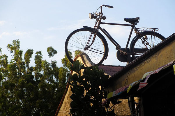 Bicycle On The Roof - George Town - Penang - Malaysia - January 2016