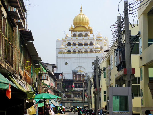 Sikh Temple - China Town - Bangkok