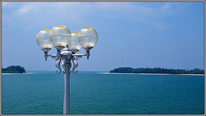 Left Phuket - Right Phang Nga - View From The Sarasin Bridge