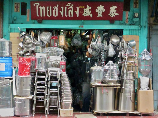 Small Shop - China Town Bangkok - December 2015